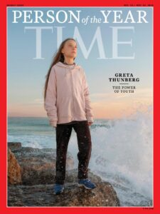 Greta Thunberg copertina Time
